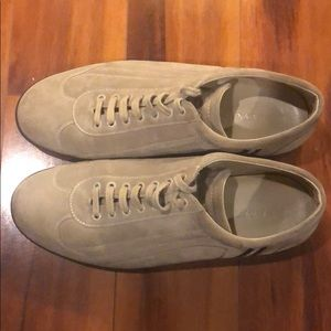 Suede Bally shoes